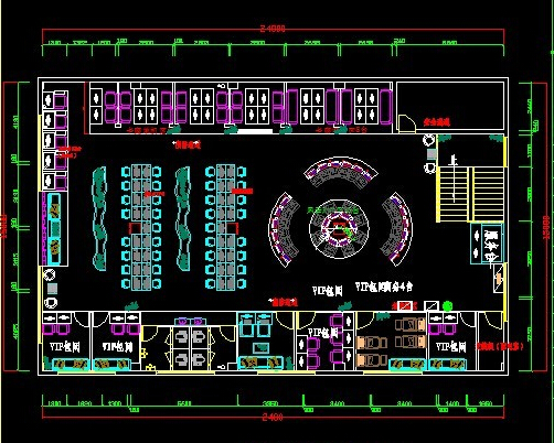 网吧设计平面图