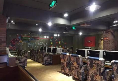 网吧工业复古风的装修风格,你喜欢吗?