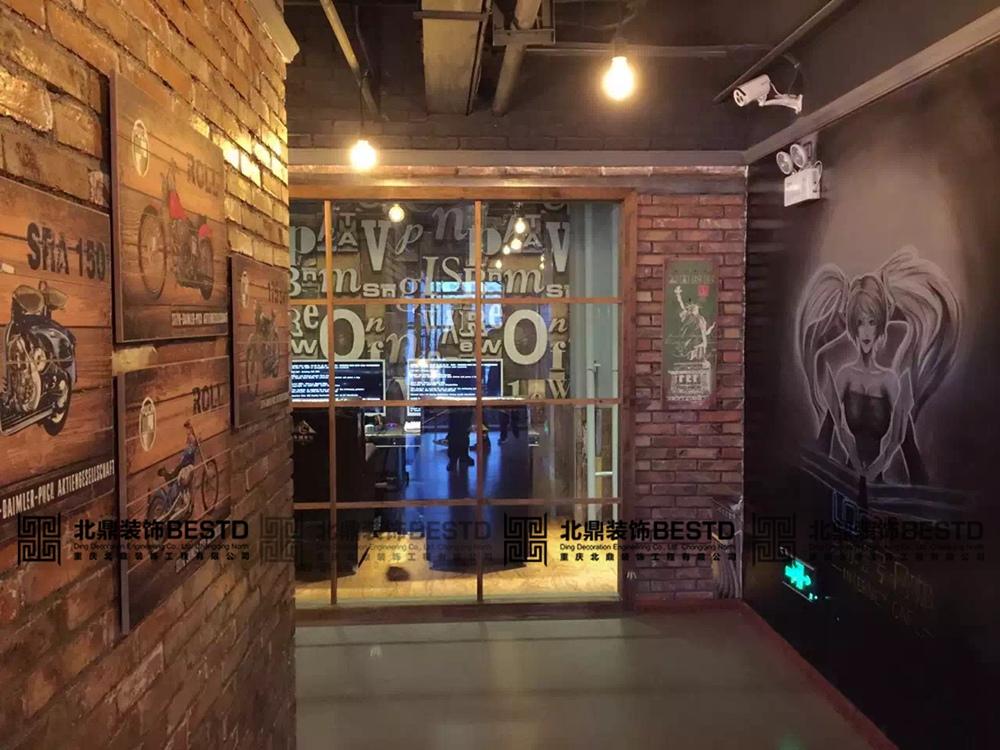 西安网吧装修网咖设计案例